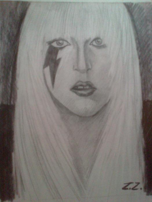 Lady Gaga por zuzu